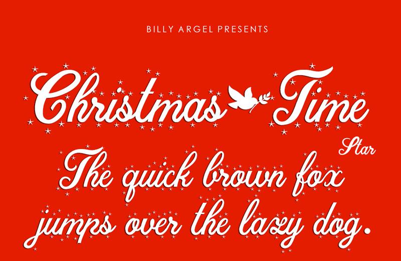 Christmas Time Font   dafont.com