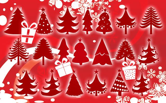 Christmas Trees Font | dafont.com