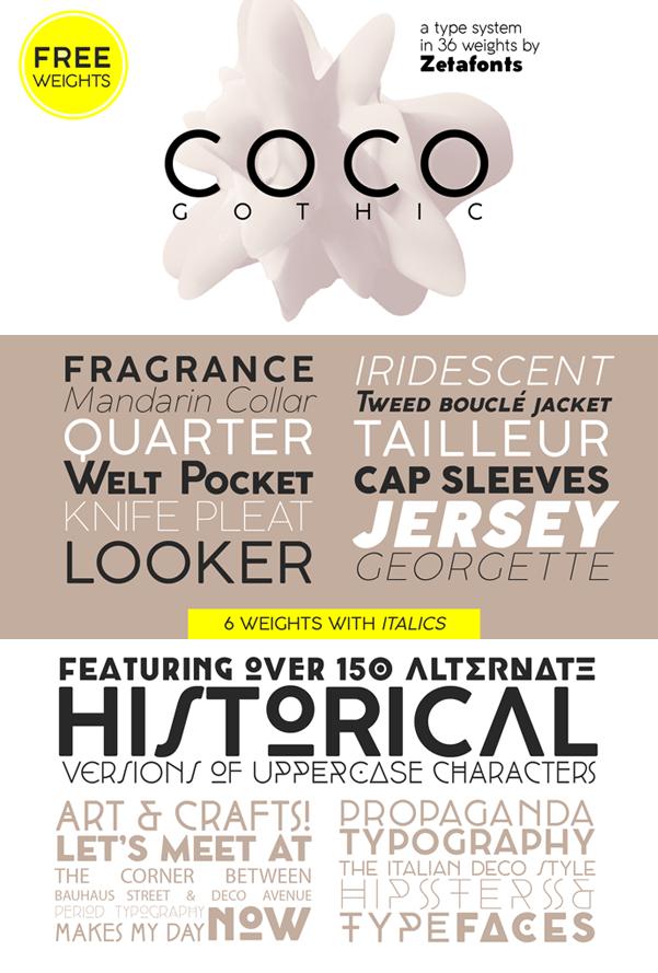 Coco Gothic Font | dafont com