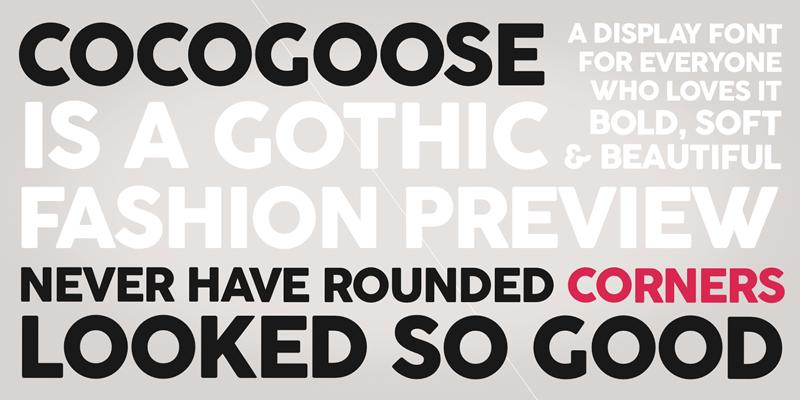 Cocogoose Font | dafont.com