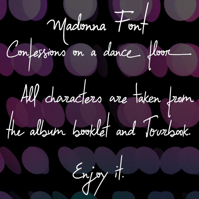 Confessions Font | dafont.com