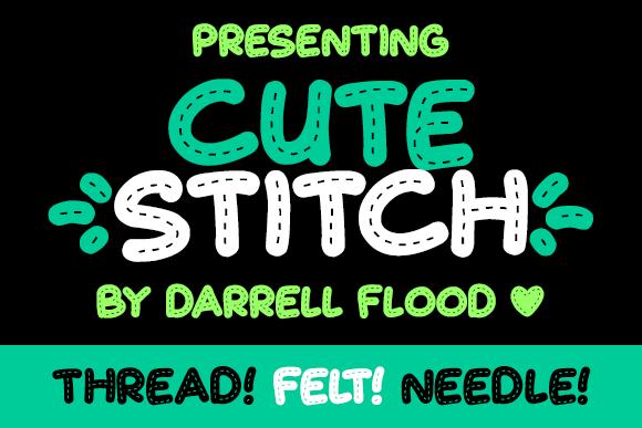 Illustration C Darrell Flood Cute Stitch