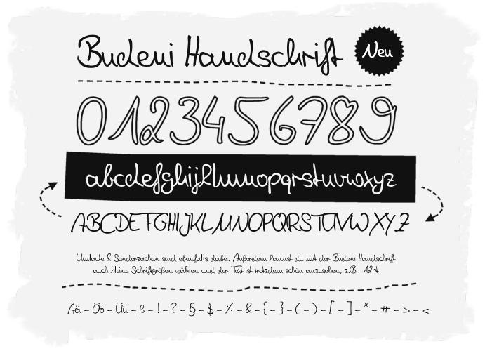 Denise Handwriting Schriftart Dafont Com