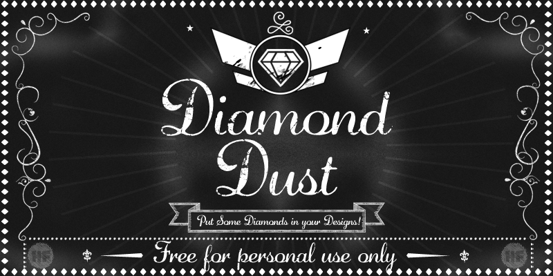 Diamond Dust Font Download