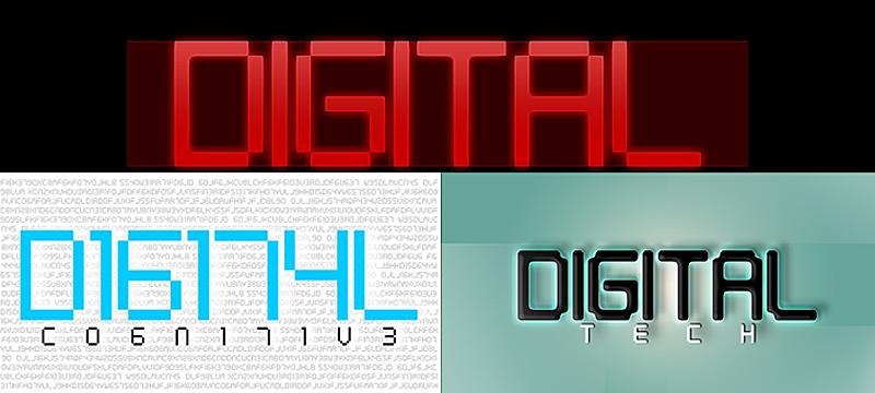 Digital Tech Font | dafont com