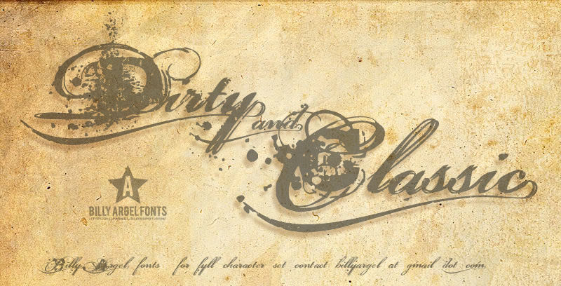 Illustration Billy Argel Dirty And Classic