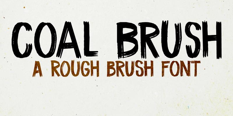 DK Coal Brush Font | dafont com