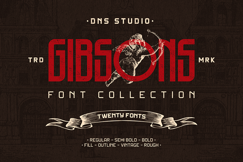 gibson semibold font free download