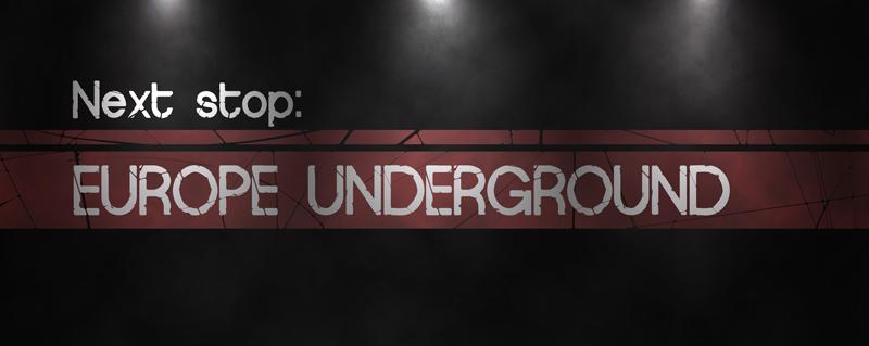 Europe Underground Worn Font | dafont