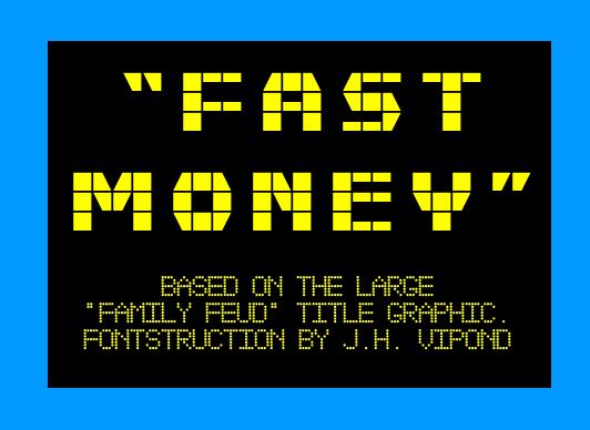 Fast Money Font   dafont com