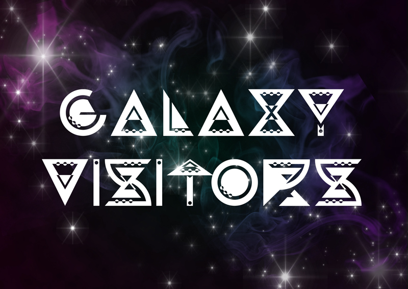 Galaxy Visitors Font | dafont.com