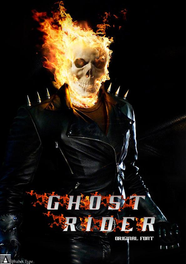 Ghost Rider Movie Font | dafont.com