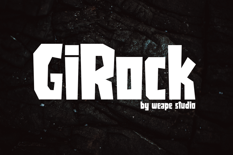 Girock Font