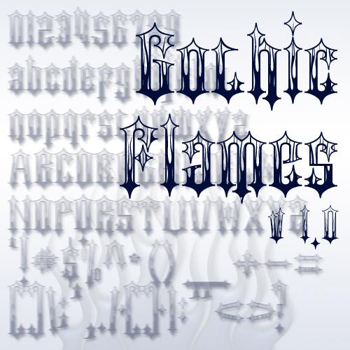 Gothic Flames Font | dafont com