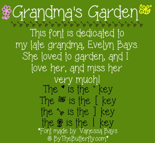 Grandmau0027s Garden