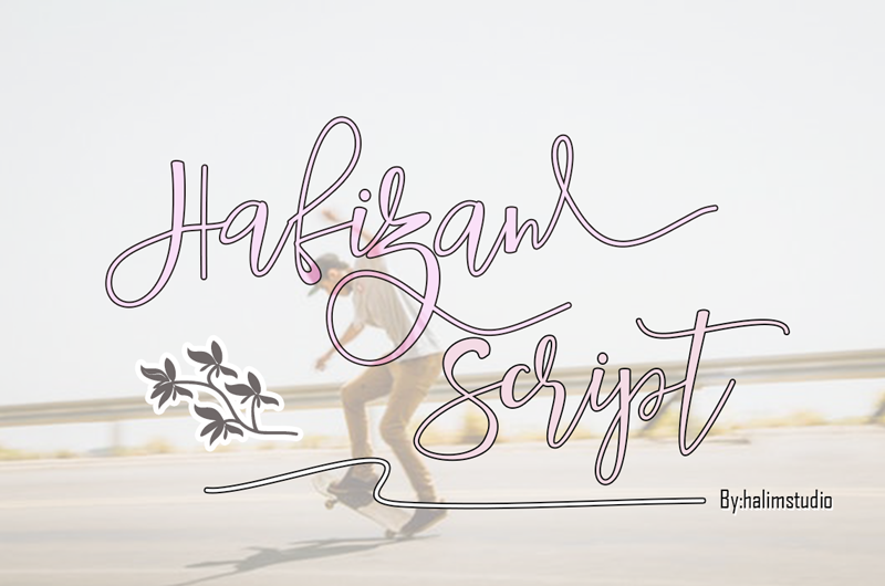 Hafizan Script Font | dafont com