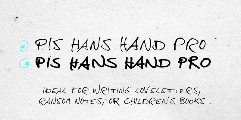 Hans Hand Font | dafont com