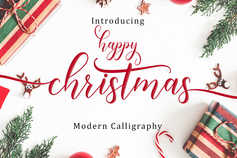 Happy Christmas Font | dafont.com