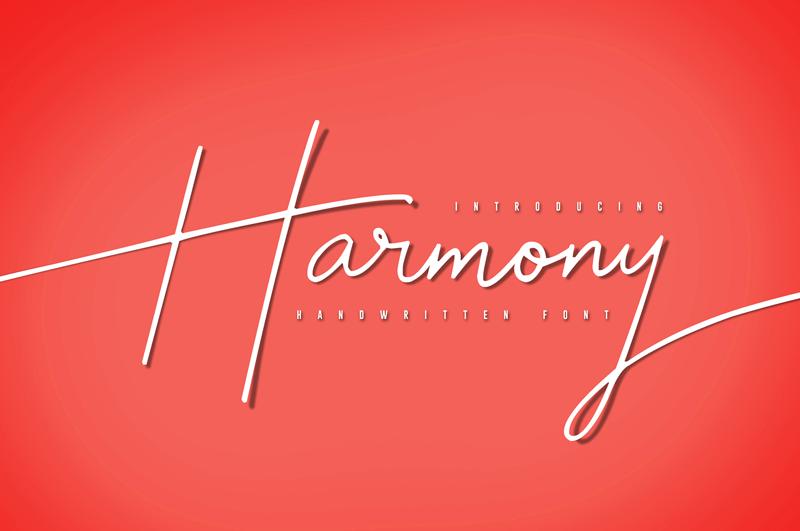 Harmony Font   dafont com