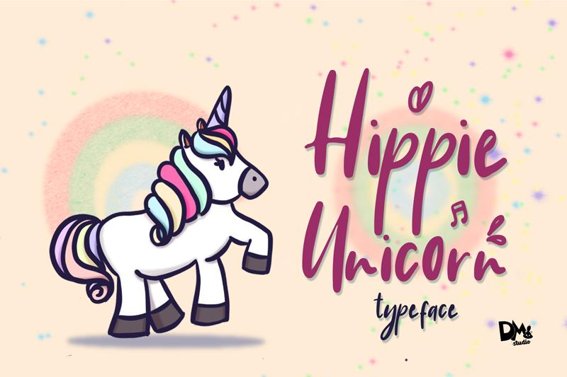Hippie Unicorn Font | dafont com