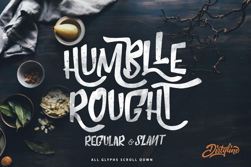 Humblle rought dafont.com
