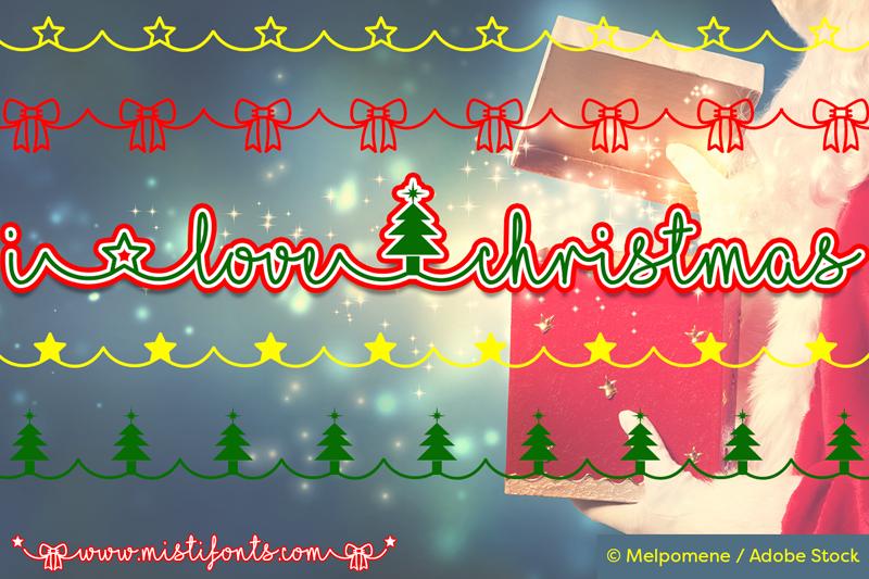 I Love Christmas.I Love Christmas Font Dafont Com