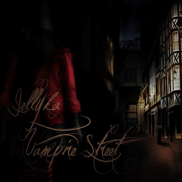 jellyka vampire street font
