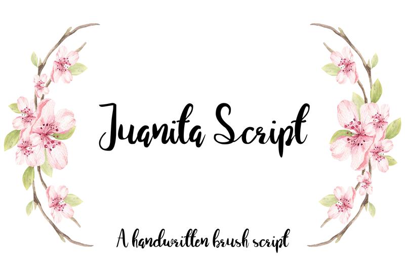 Juanita Brush Script Font
