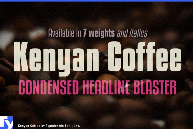 La police Kenyan Coffee