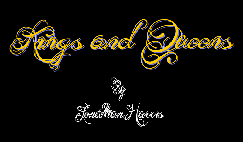King And Queen Font By Weknow: Kings And Queens Font