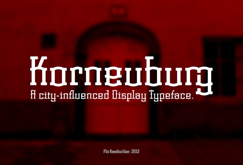 Korneuburg Display Font Download
