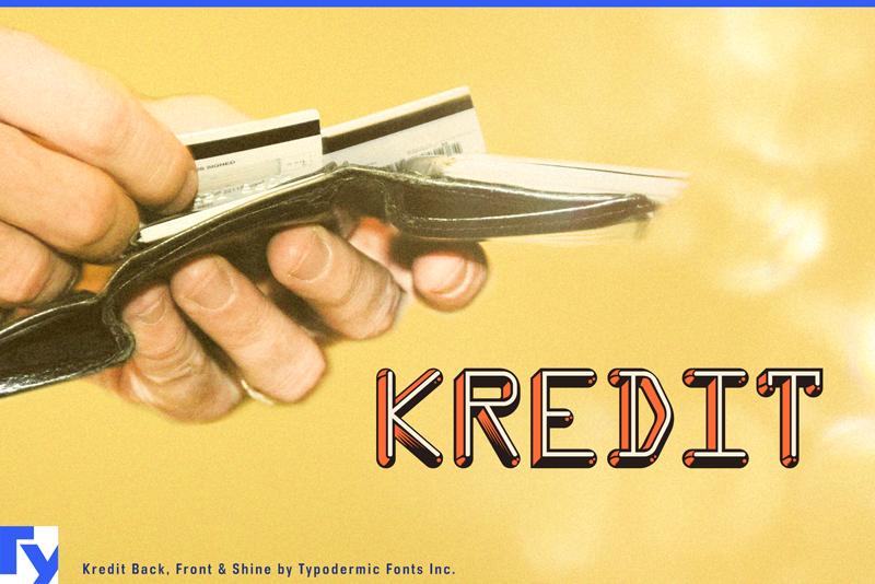 kredit font