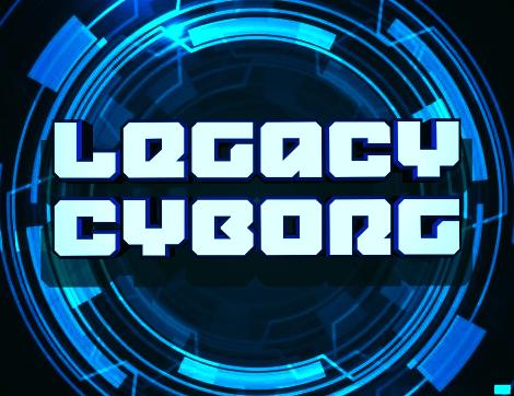 Legacy Cyborg Font