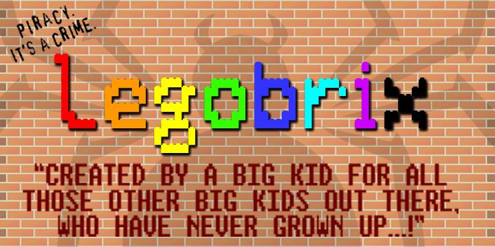 Lego Brix Font   dafont.com