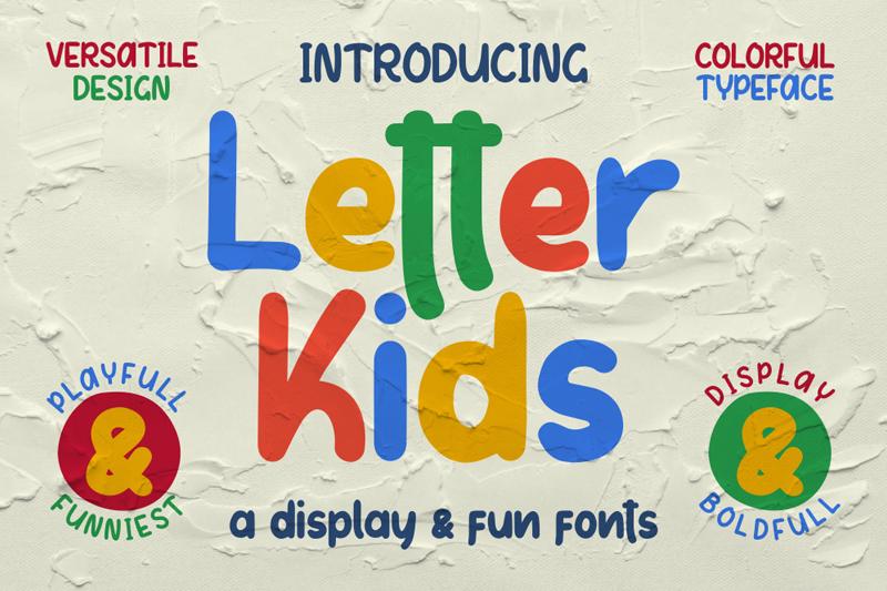 Letter Kids Font | dafont com