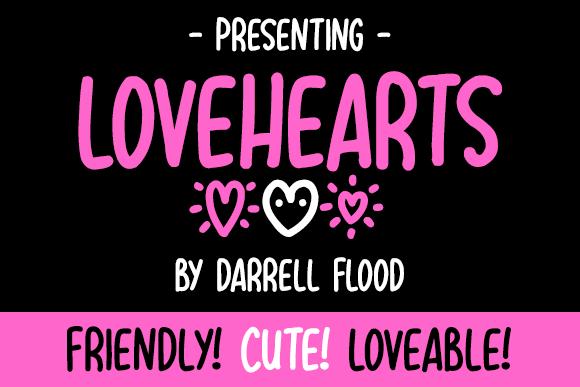 Illustration © Darrell Flood. Lovehearts ...