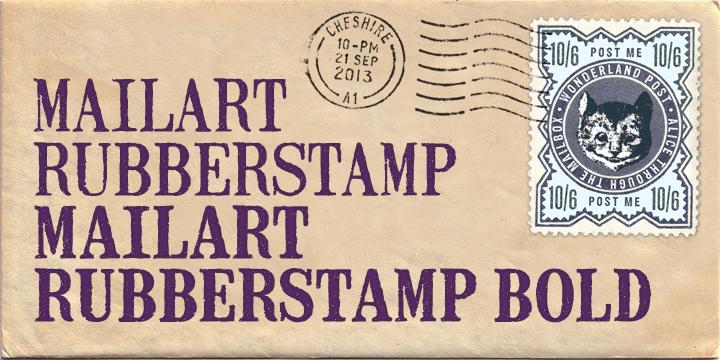 Mailart Rubberstamp Font | dafont com