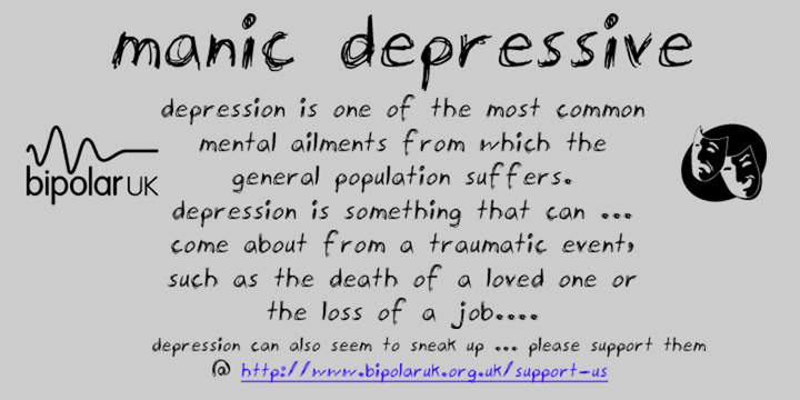 bipolar manic depression Typically these mood shifts range from highs (manic or hypomanic episodes) to  lows (depressive episodes) there are several types of bipolar.