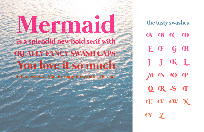 under the sea fonts