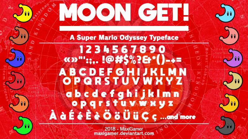 Moon Get Font Dafont Com