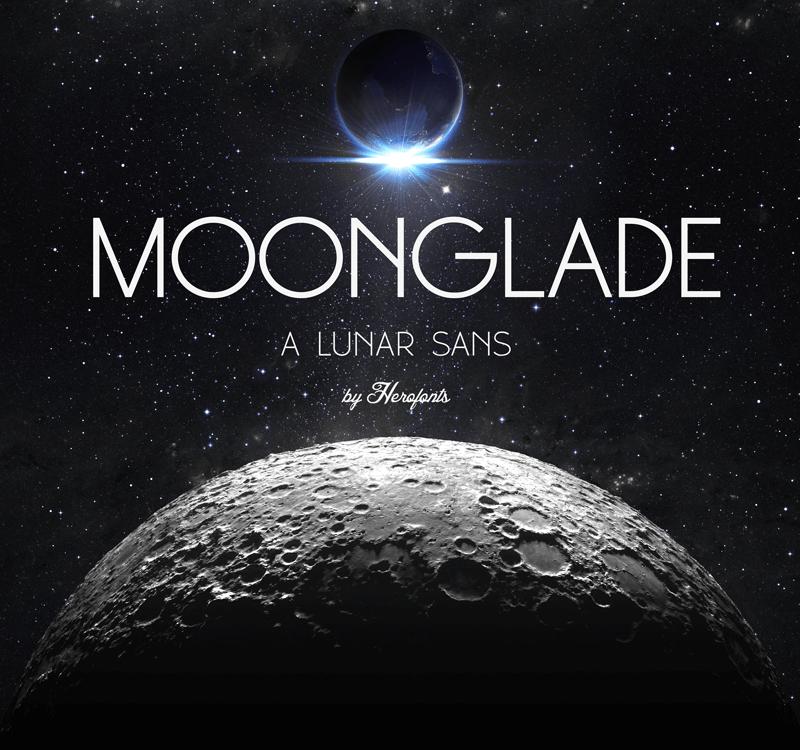 tipografías para logos gratis moonglade