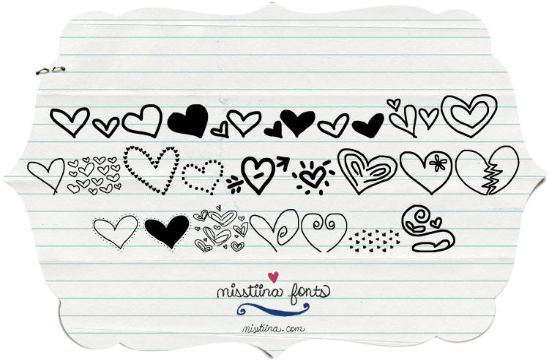 Mtf Heart Doodle Font Dafont Com Doodle heart illustrations & vectors. mtf heart doodle font dafont com