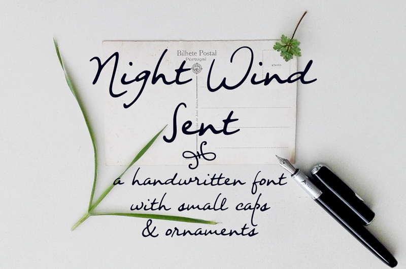 Night Wind Sent Font