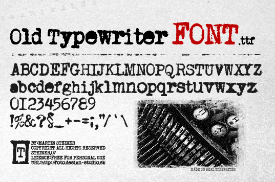 Old Fashioned Fonts Free Commercial