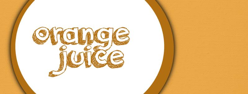 Orange Juice Font | dafont com