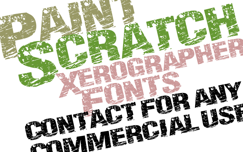Paint Scratch Font | dafont com