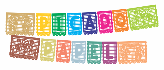 graphic relating to Papel Picado Printable identify Papel Picado Font