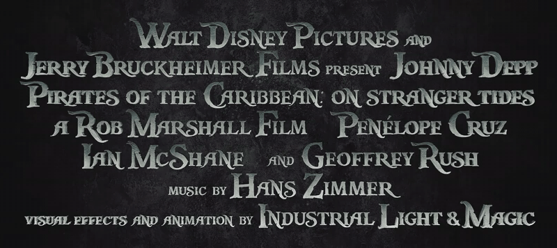 pirates of the caribbean font free