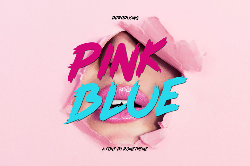La police Pink Blue