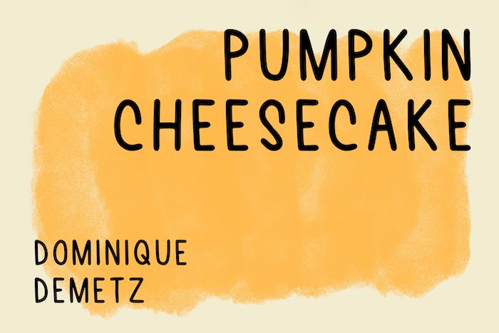 Pumpkin Cheesecake Font Dafont Com